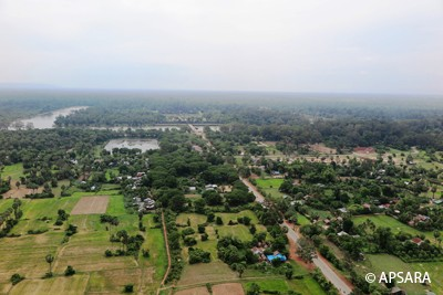 ANGKOR SITE- PANORAMA MUSEUM-ROLUOS GROUP- OLD MARKET AREA (PHSAR CHAS)