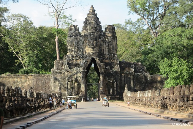 South Gate of Angkor Thom, Bayon, Preah Khan, Neak Pean, Ta Prohm, Banteay Kdei, Sras Srang, Khmer Habitat Interpretation Center